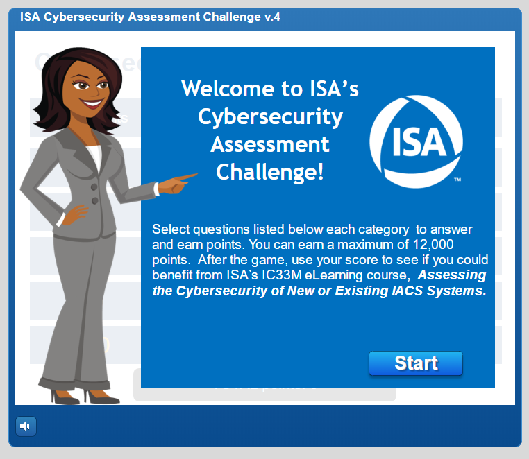ISA Cyber Risk Assessment Challenge
